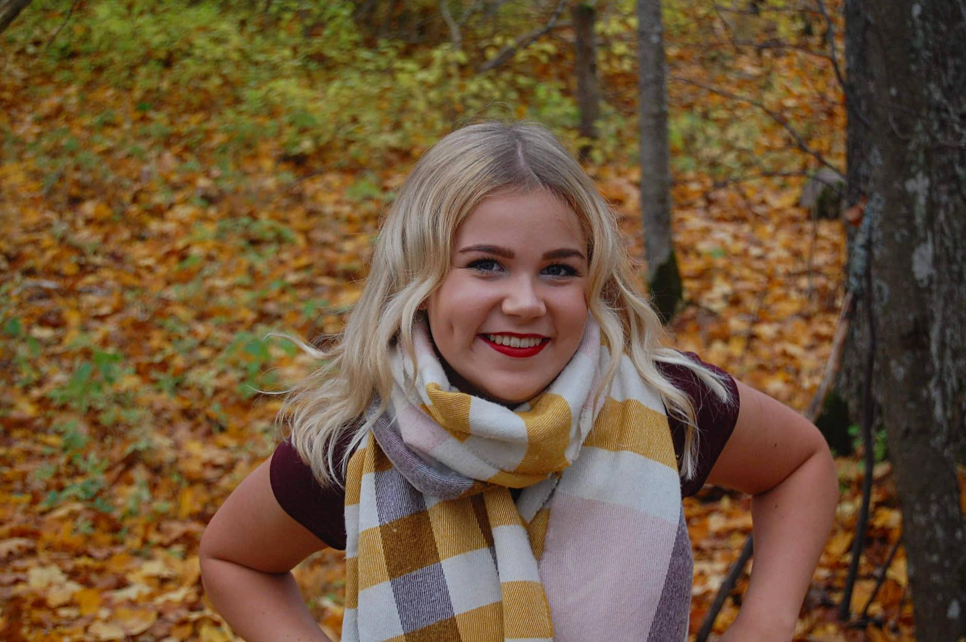 Õpilasesinduse president Helena-Karmen Saar