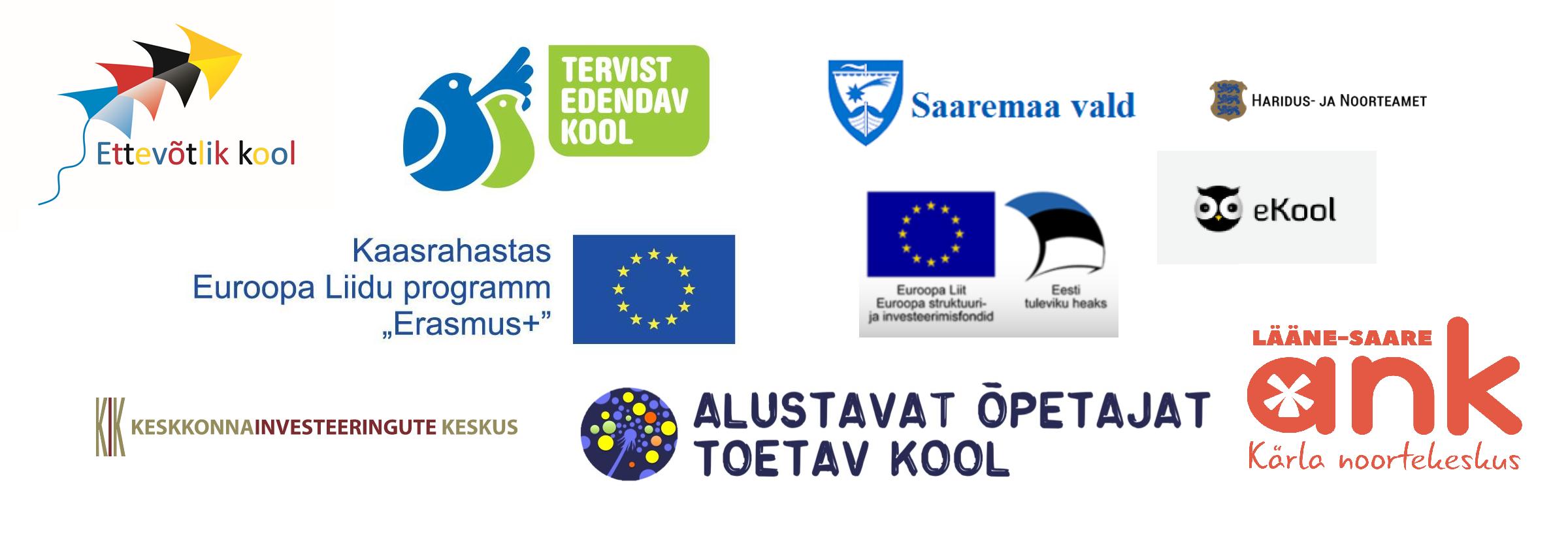 Koostööpartnerite logod