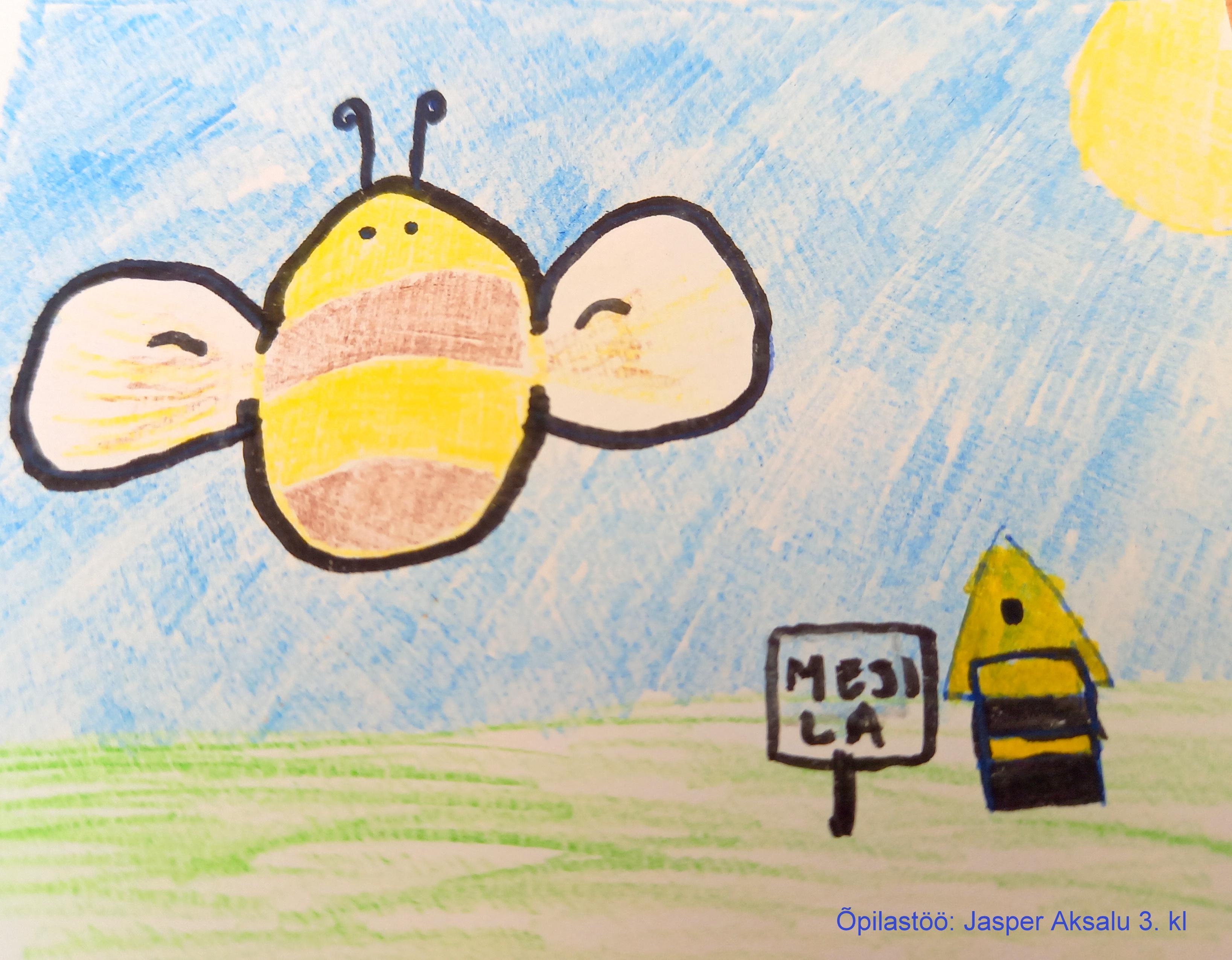 õpilastöö: Mesilane